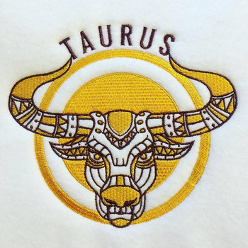 Taurus - Zodiac Collection #11 Machine Embroidery Design