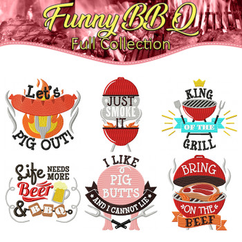 Funny BBQ Full Collection