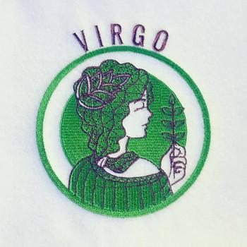 Virgo - Zodiac Collection #12 Machine Embroidery Design