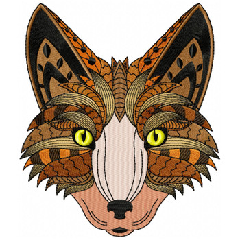 Detailed Fox Face B