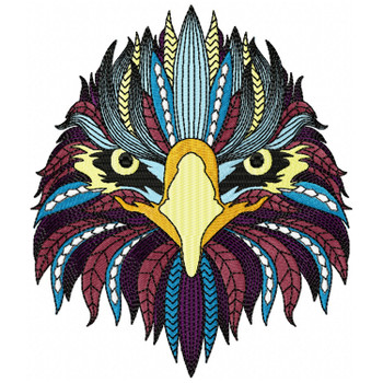 Detailed Eagle Face A