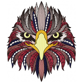 Detailed Eagle Face B