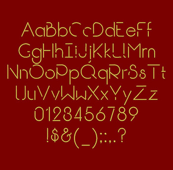 Break Regular Embroidery Font Now Includes BX Format!