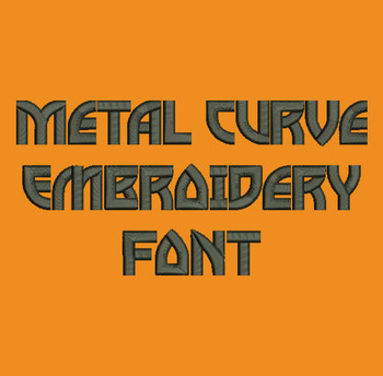 Rock On! - Metal Curve Embroidery Now Includes BX Format