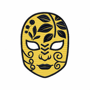 Clown Mask 4 - Masquerade Design Collection #02 Machine Embroidery Design