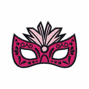 Spiky Eyemask - Masquerade Design Collection #03 Machine Embroidery Design