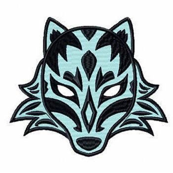Wolf Mask - Masquerade Design Collection #12 Machine Embroidery Design