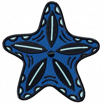 Starfish #10 Machine Embroidery Design