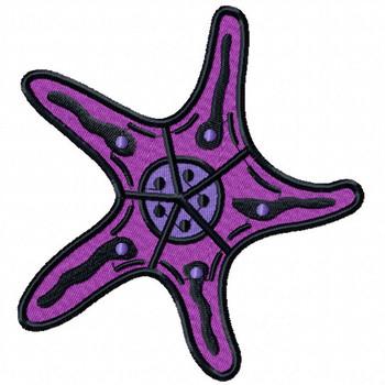 Starfish #12 Machine Embroidery Design