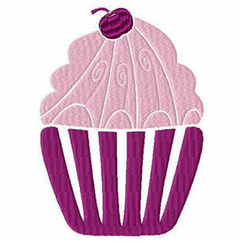 Cupcake #03 Machine Embroidery Designs