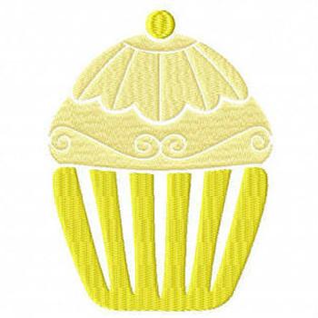 Cupcake #04 Machine Embroidery Designs