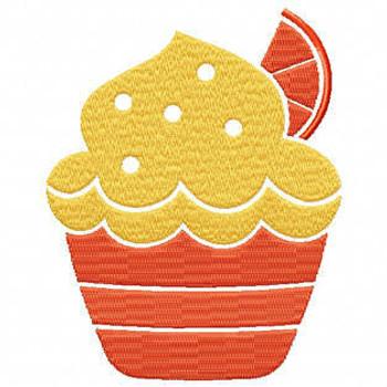 Cupcake #09 Machine Embroidery Designs