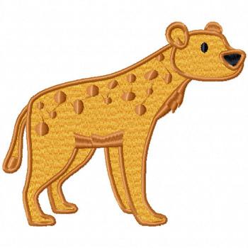 Cheetah - Safari Animals #02 Machine Embroidery Design