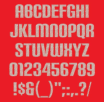 Futuristic Font - Carbon Phyber Machine Embroidery Font Now Includes BX Format!