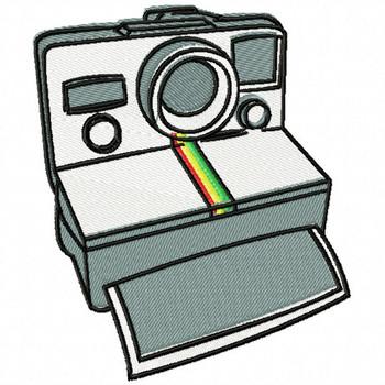 Film Camera - Photography #01 Machine Embroidery Design
