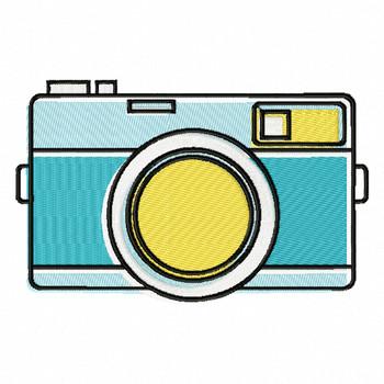 Analog Camera - Photography #02 Machine Embroidery Design