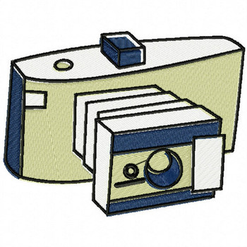 Classic Camera - Photography #05 Machine Embroidery Design