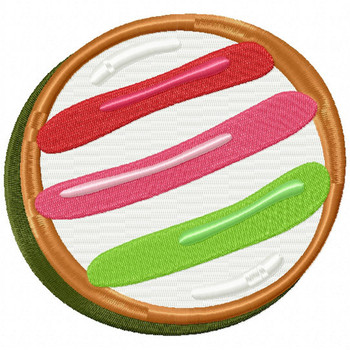 Christmas Cookies #12 Machine Embroidery Design