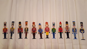 Christmas Toy Soldier #02 Machine Embroidery Design