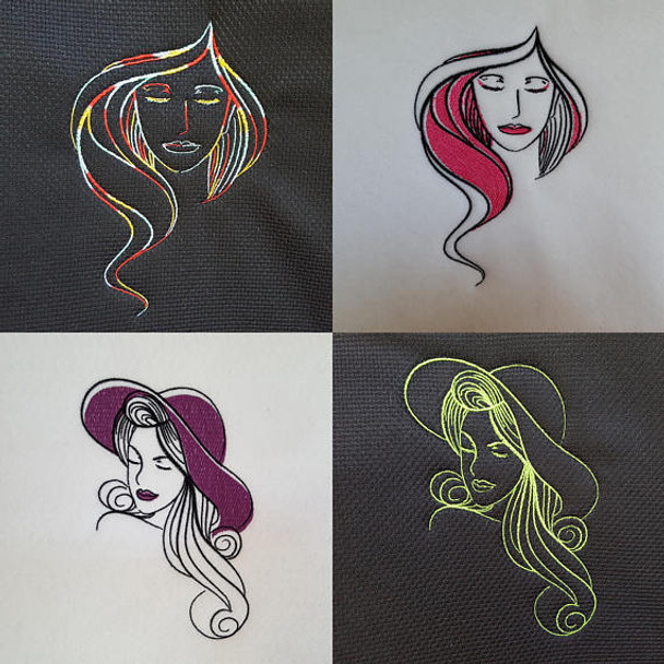 Modern Ladies Machine Embroidery Designs Full Collection
