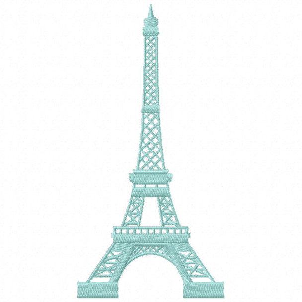 Machine Embroidery Design French Cafe Collection 06