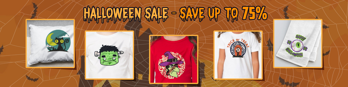 Halloween Machine Embroidery Sale