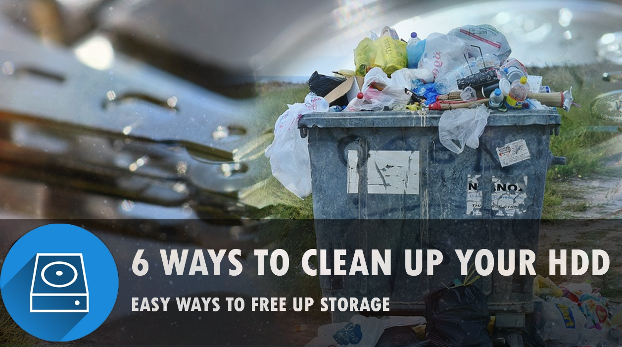6 Easy ways to free up your hard disk