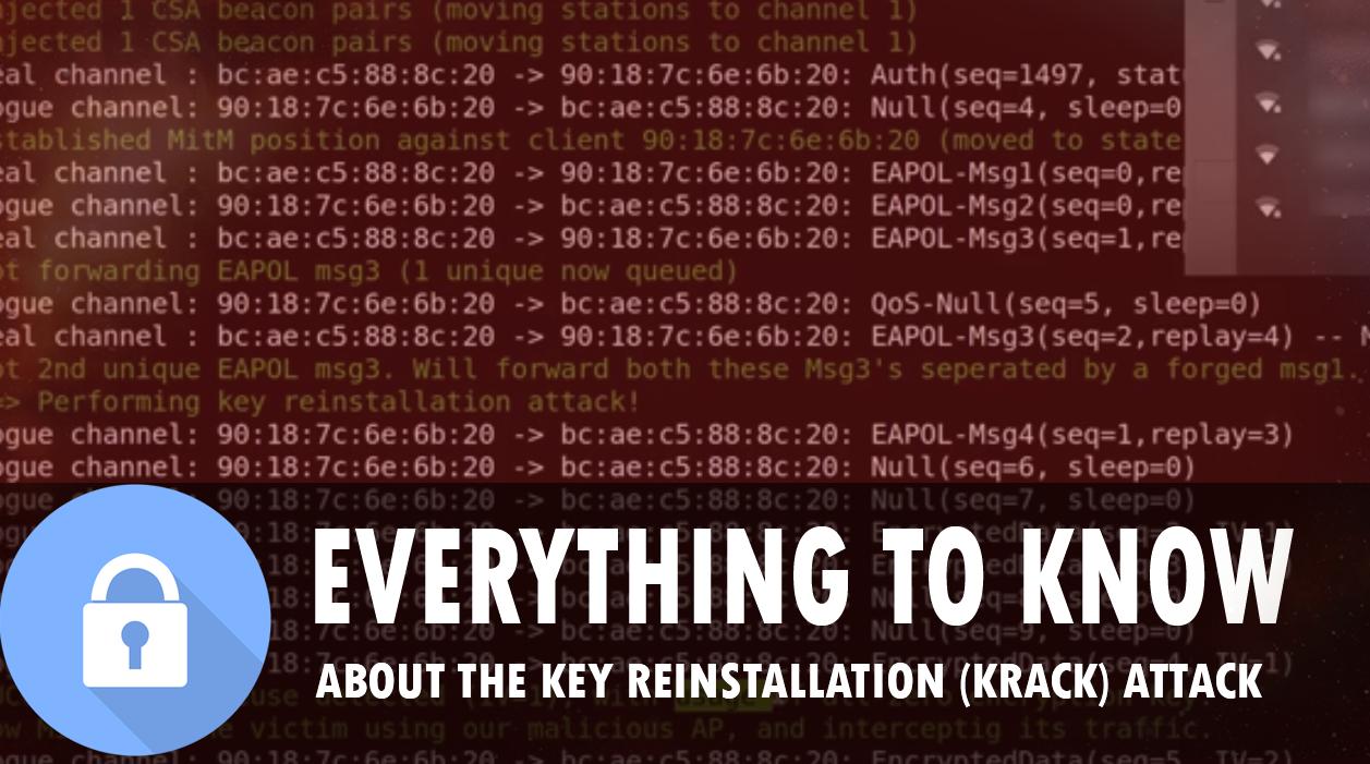 (Krack) The Key Reinstallation Attack, in English