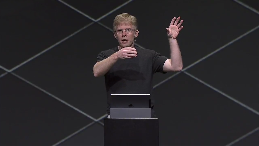 Day Two OC4: John Carmack, CTO talks Mobile VR and GO specs