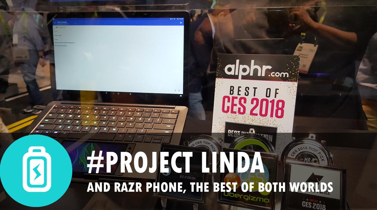 Razer Phone & Project Linda (CES2018)