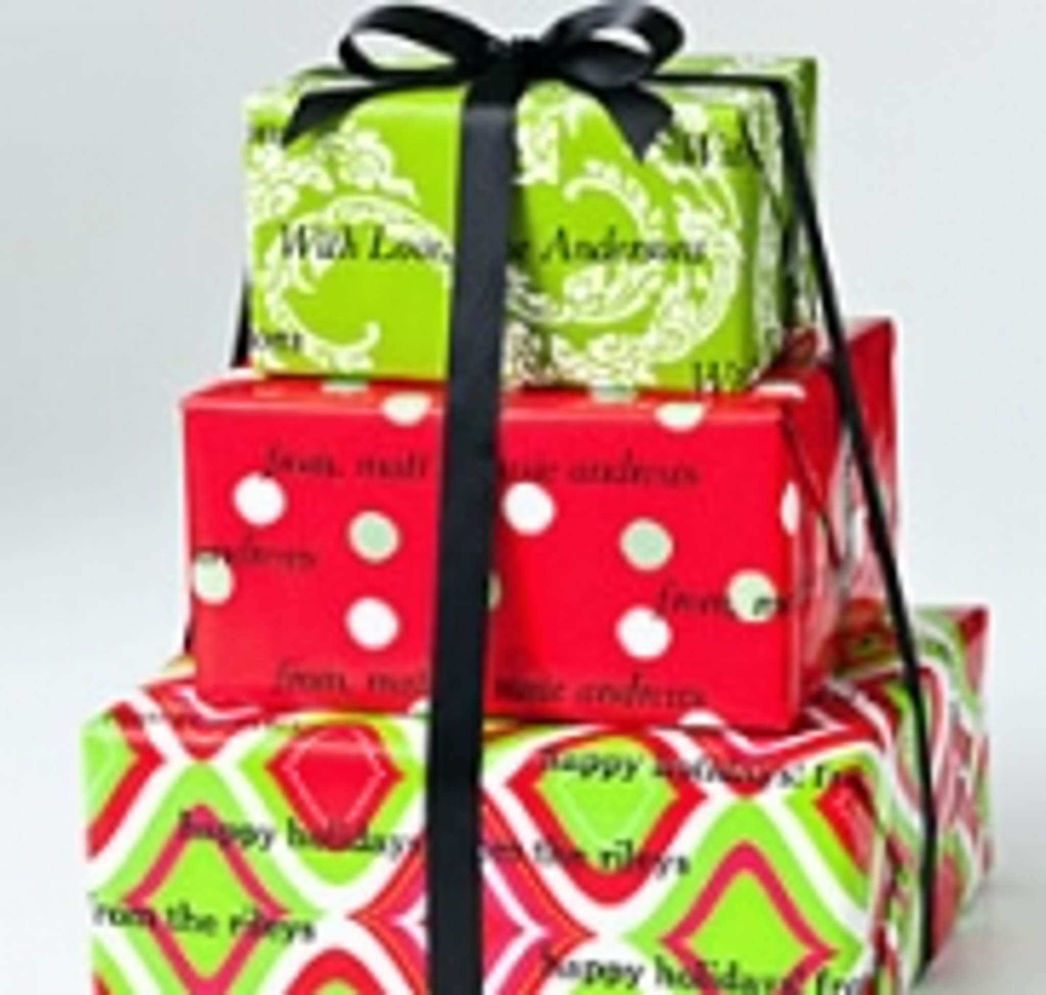 Personalized Gift Wrap - Christmas and Holiday