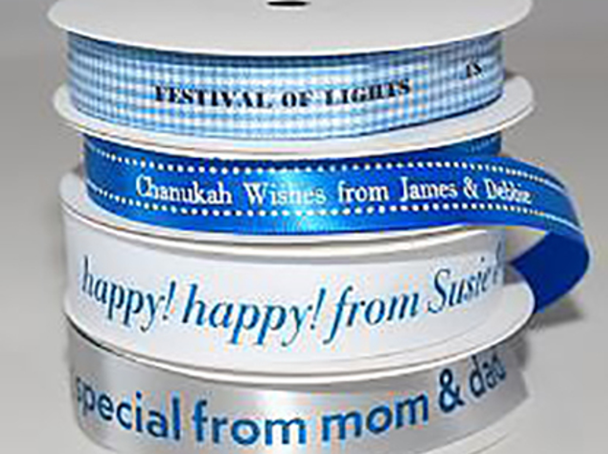 Chanukah Personalized Ribbon