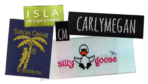 Customized Woven Labels with Logo