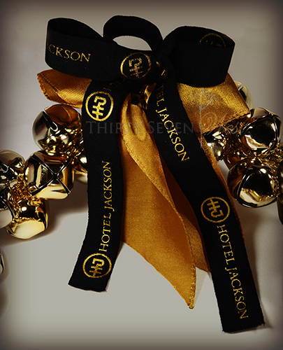 Matte Textured Custom Ribbon with Logo