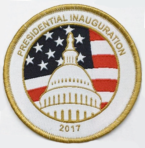Presidential Inauguration 2017 Patch