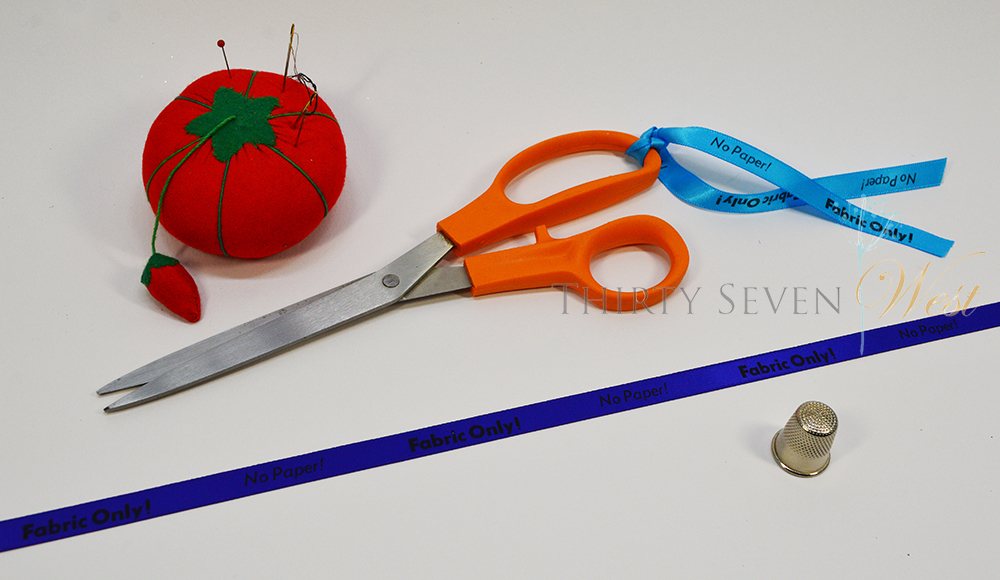 Only Fabric Ribbon for scissors