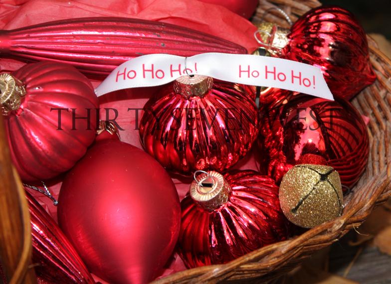 Custom Printed Christmas Ribbon