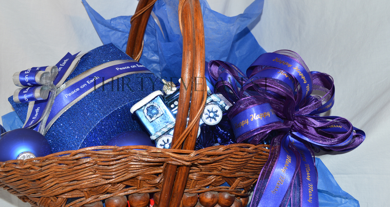 Personalized Printed Ribbon Ideas for Gift Baskets