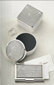 All That Glitters Card Case and Round and Square Boxes