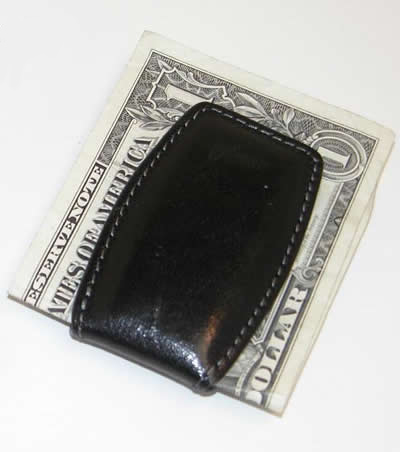 Personalized Black Money Clip