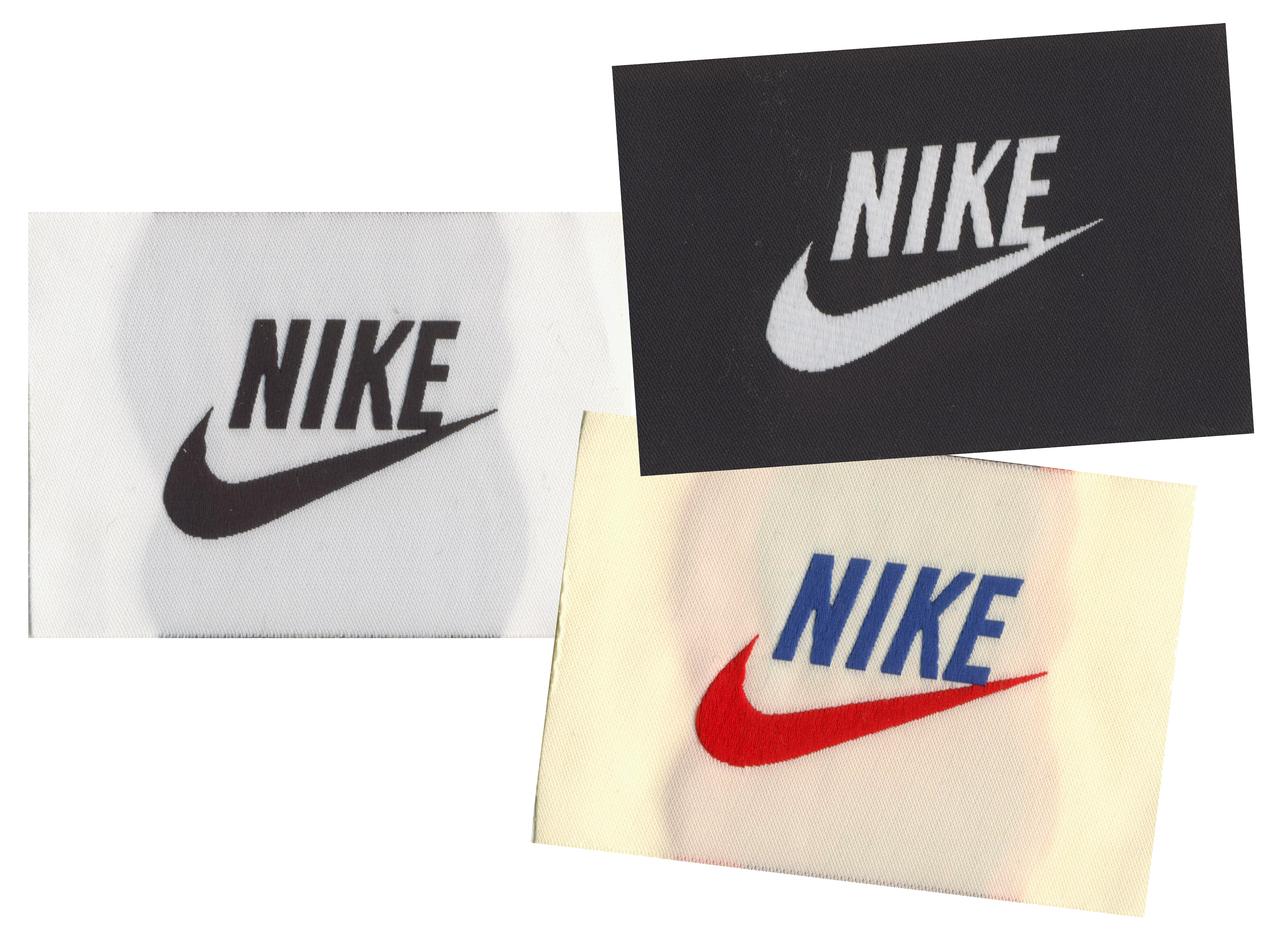 Custom Woven Nike Labels
