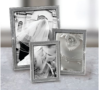 Nickel Plated All That Glitters Picture Frame