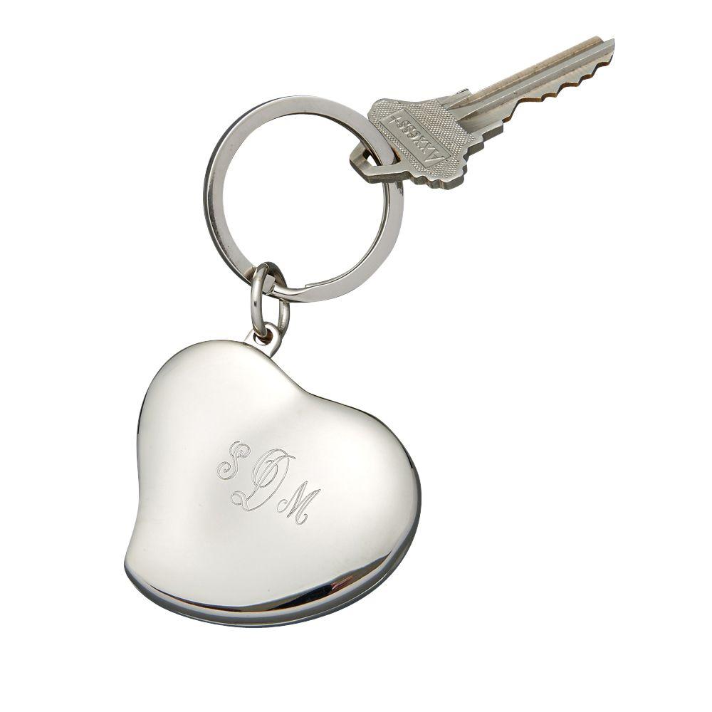 Heart Locket Key Ring