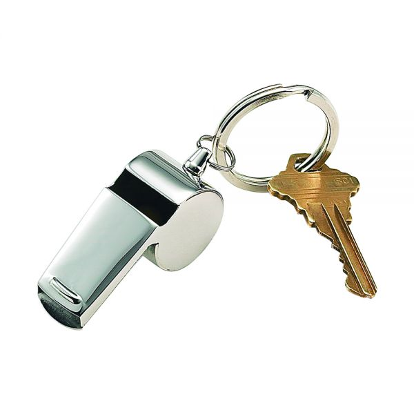 Coach Whistle Key Ring