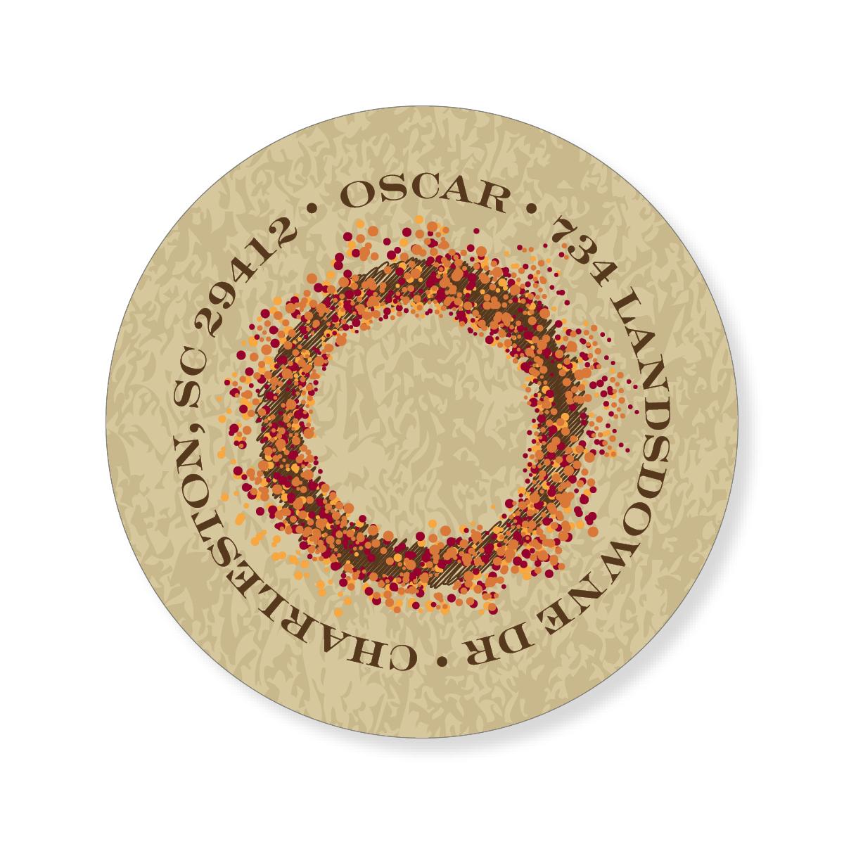 Autumn Wreath Sticker