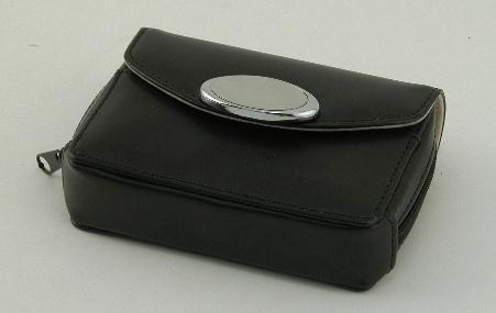 Black Zippered Card Case