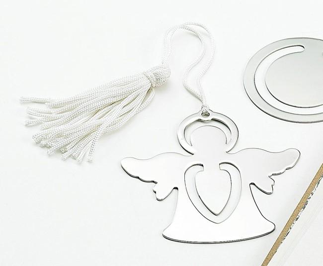 Standing Angel Bookmark with Tassel