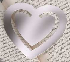 Large Heart Bookmark