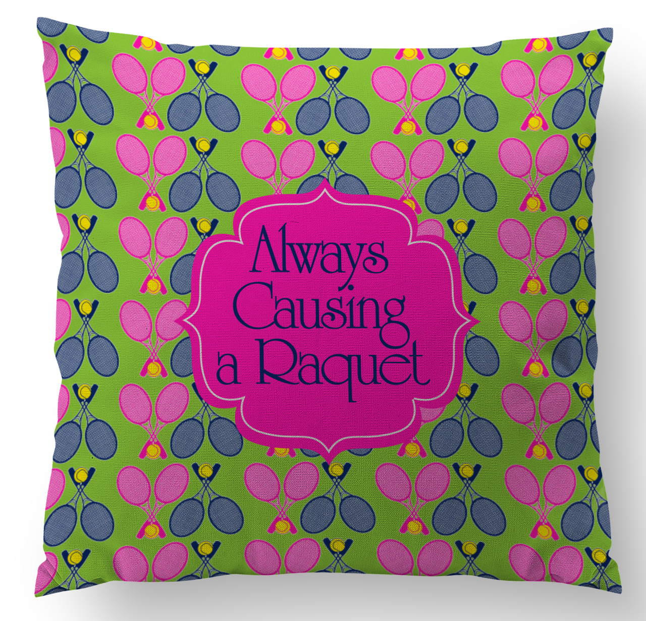 Tennis Custom Designer Pillows