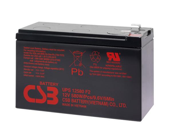 SMART1400 Tripp Lite CBS Battery - Terminal F2 - 12 Volt 10Ah - 96.7 Watts Per Cell - UPS12580 - 3 Pack| Battery Specialist Canada